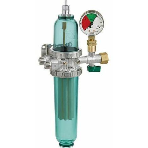Filtre fioul combiné GS ProFi 3 35 my, vacuomètre et pot de filtre long