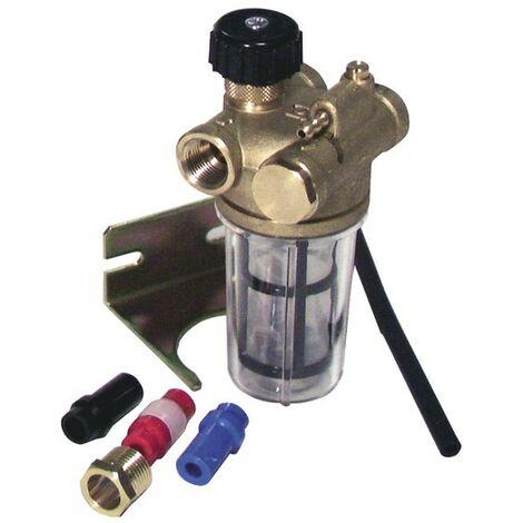 Filtre fioul Recyclage à robinet RZ FF3/8 - WATTS INDUSTRIES : 22L0137100