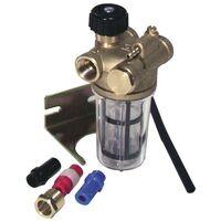 Filtre fioul - RZ Recyclage à robinet d'arrêt FF3/8 - WATTS INDUSTRIES : 22L0137100