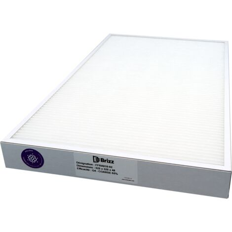 Filtre G4 compatible Ventilation FRANCE AIR Temperys - modle : 2000