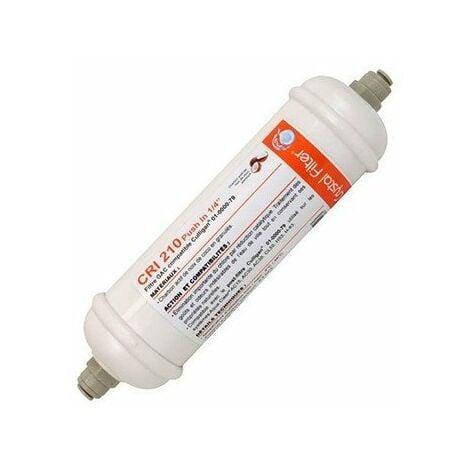 """Filtre GAC CRI 210 - Charbon - 6"""" - Push In 1/4"""" - Compatible Culligan® 01-0000-79"""