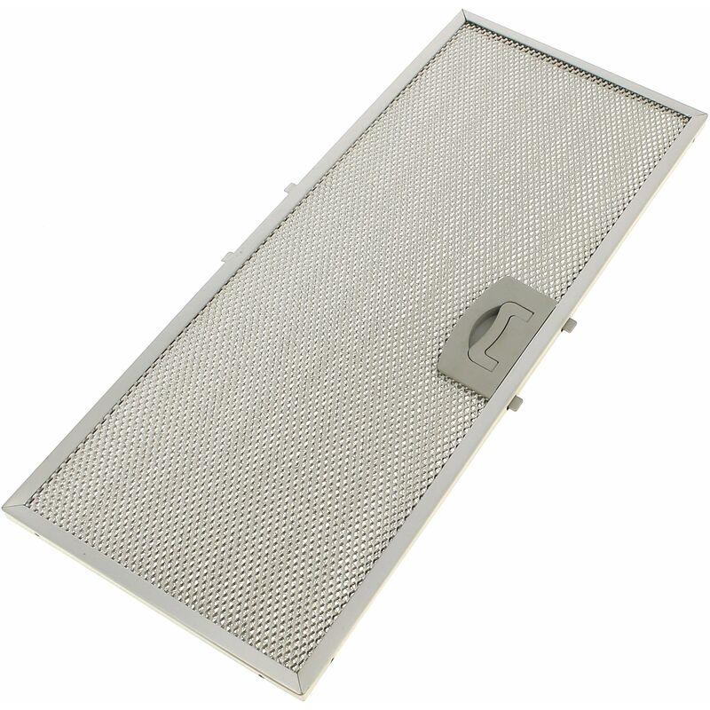 Filtre graisse metal 385x158 pour Hotte Airlux
