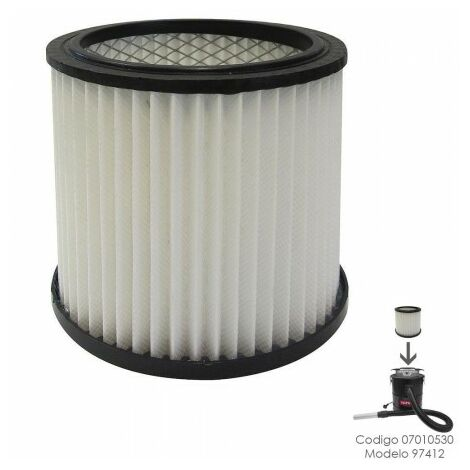 Filtre hepa pour aspirateur à cendres yamato 97412