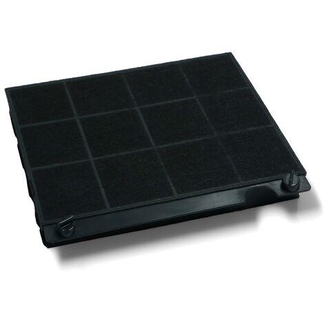 Filtre hotte charbon type 15 (220x210x30mm) -, Hotte, T15