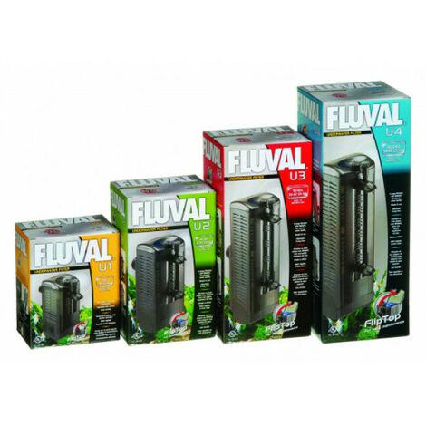 Filtre intérieur Fluval U1 pour aquarium jusqu'à 55 litres