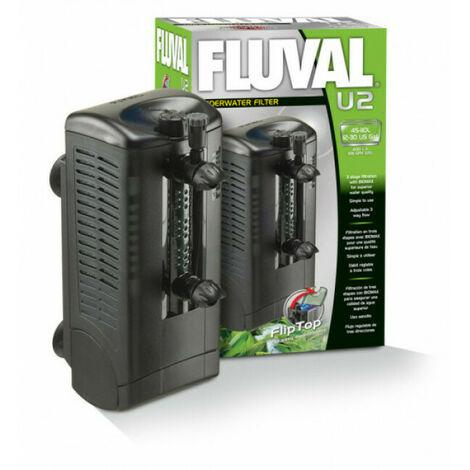 Filtre intérieur Fluval U2 pour aquarium jusqu'à 110 litres