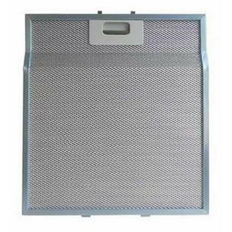 Filtre métal anti graisse (à l'unité) 282x314mm (36963-2996) (481248058334, GF040B) Hotte ROSIERES, WHIRLPOOL