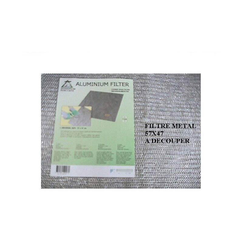 Filtre Metallique Universel A Decouper Pour Hotte - 22502