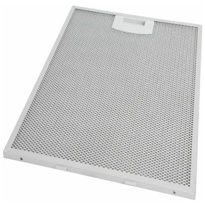 Filtre hotte métal anti graisse BOSCH/SIEMENS (310x250x8mm) -, Hotte, 00353110