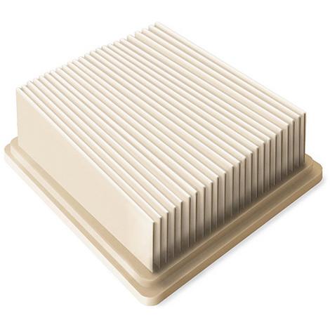 Filtre plissé plat pour aspirateur ENERGYCLEAN-20L - 805401 - Peugeot