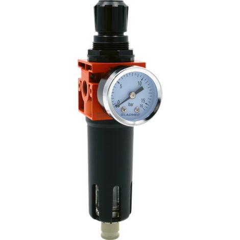 Filtre régulateur 1/4 12 bars 42 m /h LACME - 317500