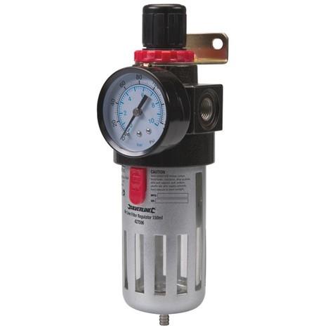 Filtre régulateur pour air comprimé, 150 ml