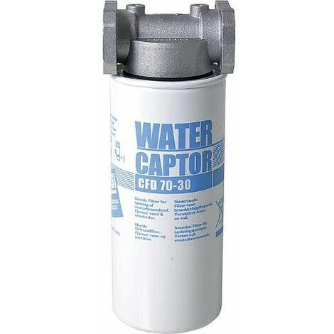 Filtre sEparateur d'eau 30µm 3,5bars puissance 70l/min