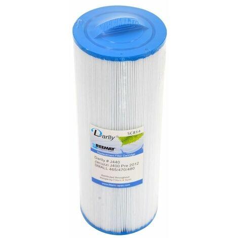 Filtre spa (Jacuzzi : J440 /J460 /J465 /J470 /J480 / 2540-387 ) - plusieurs conditionnements