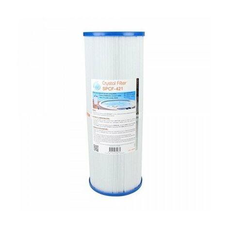 """Filtre SPA SPCF-421 - Compatible Pleatco, Filbur, Unicel - Diamètre 5"""""""