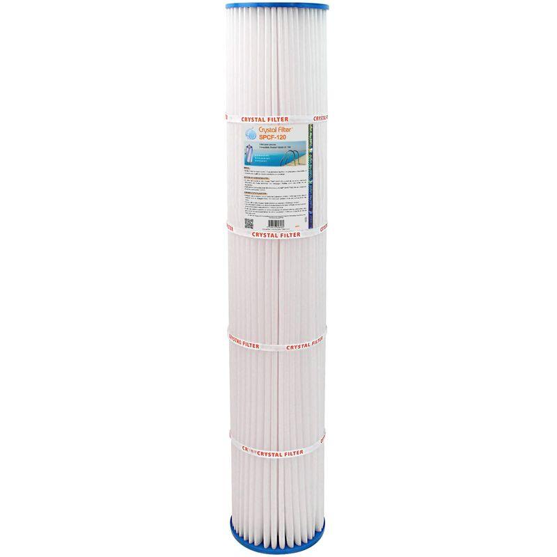 Filtre ® SPCF-120 - Compatible Pentair® QUAD DE 100 - Crystal Filter
