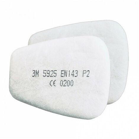Filtres anti-poussières P2R 5925 (x10 paires) 3M