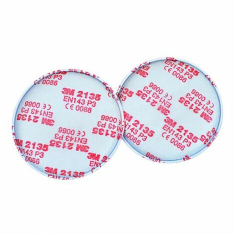 Filtres anti-poussières P3R - 2135 (x10 paires) 3M