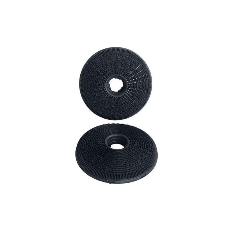 Filtres Charbon Actif(x2) Ø190mm Ep.40mm 49002519 Pour HOTTE