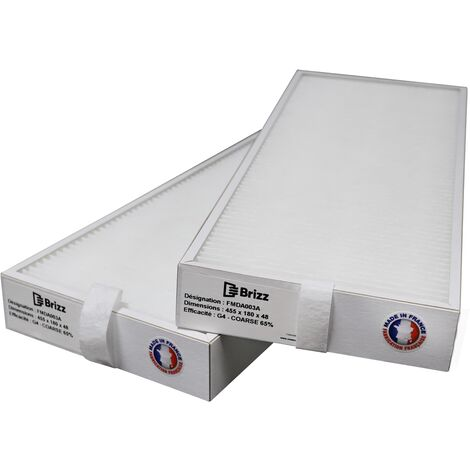 Filtres compatibles Centrale 200+ MY DATEC - contenu : 2 G4