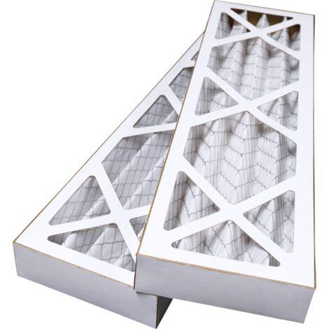 Filtres compatibles VMC DANTHERM HCV700 (2 pièces) - contenu : 2 G4