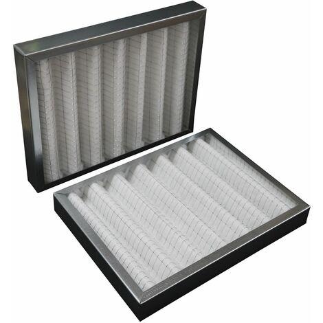 Filtres compatibles VMC DFE 600/800 ALDES - fald22 : 1 G4 + 1 F7