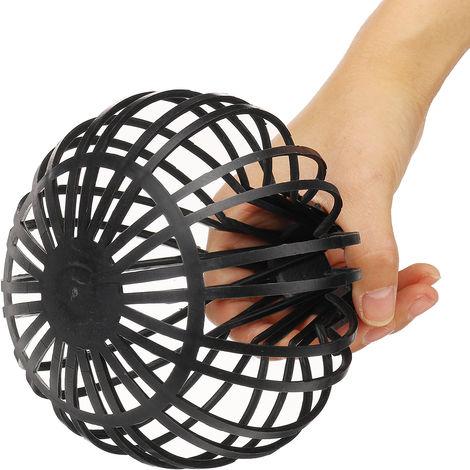 Filtres flexibles de garde de ballon de gouttière de toit en plastique de filtre de tuyau pour tuyaux de descente