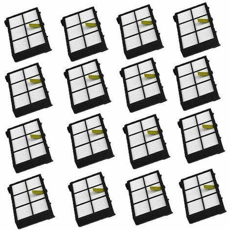 Filtres HEPA pour iRobot Roomba Series 800 900 805 860 866 870 880 980 Accessoires