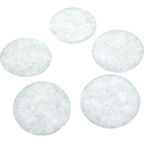 Filtres pour bouches d'extraction VMC (5 pièces) - typedebouche : DLV 125 Helios (Ø 110 mm) - classedefiltration : G3