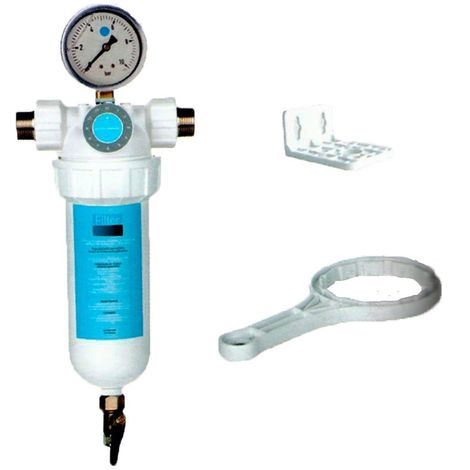 Filtro autolimpiante de agua semiautomatico para entrada general de agua