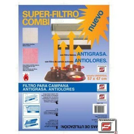 Filtro Campana Extractora Carbono Activado 60Cm Tecnhogar
