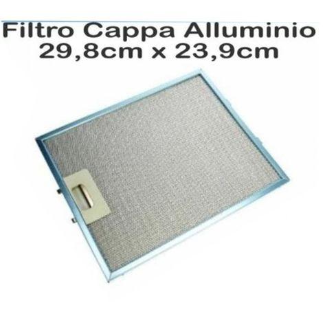 2 FILTRI rete metallica per COMET Cappa Vent Filtro 320 x 260 mm