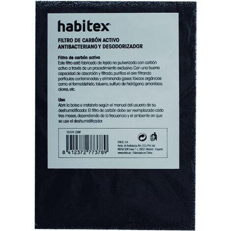 FILTRO CARBON ACT. DESHUMIFICADOR H1200. HABITEX