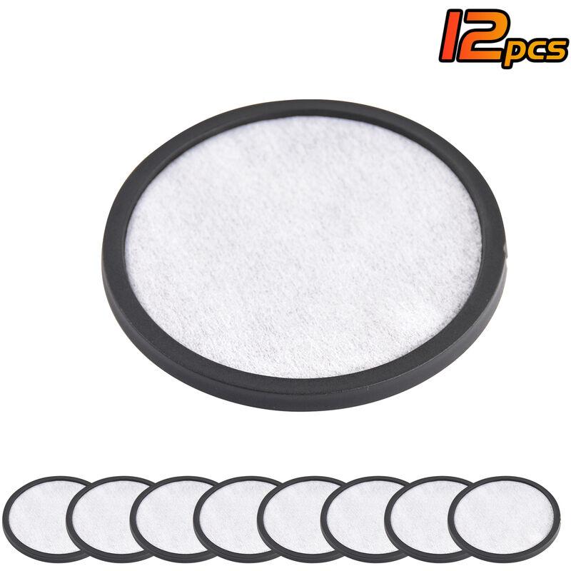 Filtro da 12 pezzi Filtro acqua per caffe Filtro di ricambio per disco Filtro da caffe compatibile con ma