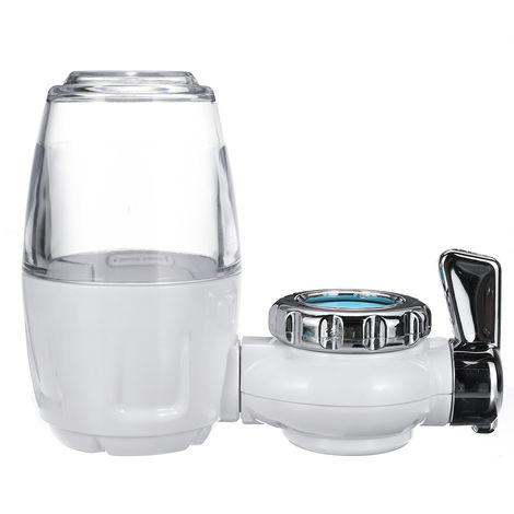 Filtro de agua del grifo purificador blanco