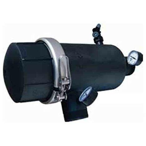 "Filtro de anillas 90mm - 3"" con abrazadera metálica"