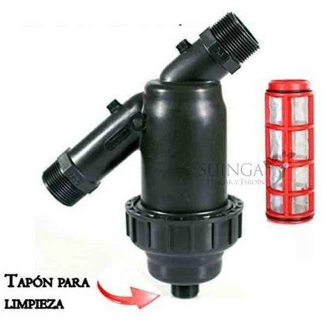"Filtro de malla 2"" para tubería 63mm"