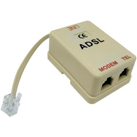 Filtro de Melchioni a una línea ADSL 2 de entrada, salida RJ RJ 433329836