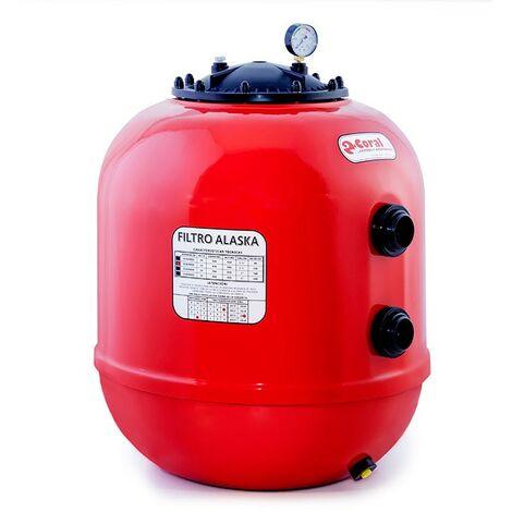 Filtro de poliéster para piscina SERIE 92 - CORAL - Características: Caudal 10 m³/h