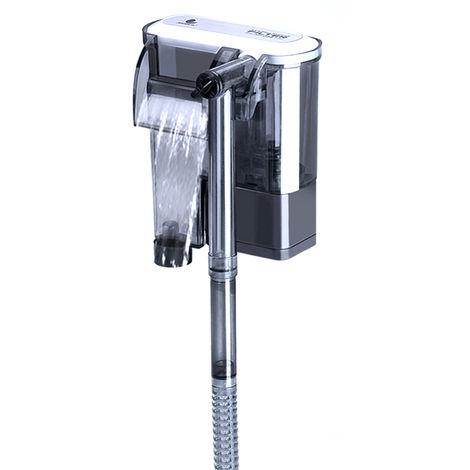 Filtro externo para pecera, Bomba de oxigeno con suspension,160L/H,Sin pelicula desengrasante