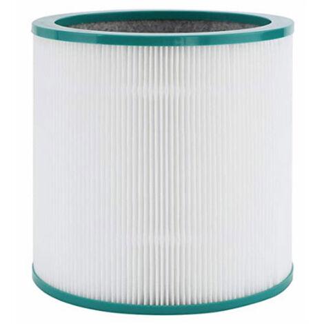 Filtro HEPA de 1 pieza que reduce el reemplazo de piezas de repuesto de olor, para purificador de aire Dyson TP01 TP02 TP03