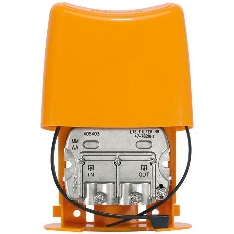Filtro LTE 4G Alto Rechazo EasyF C21-59 con Paso DC Amarillo