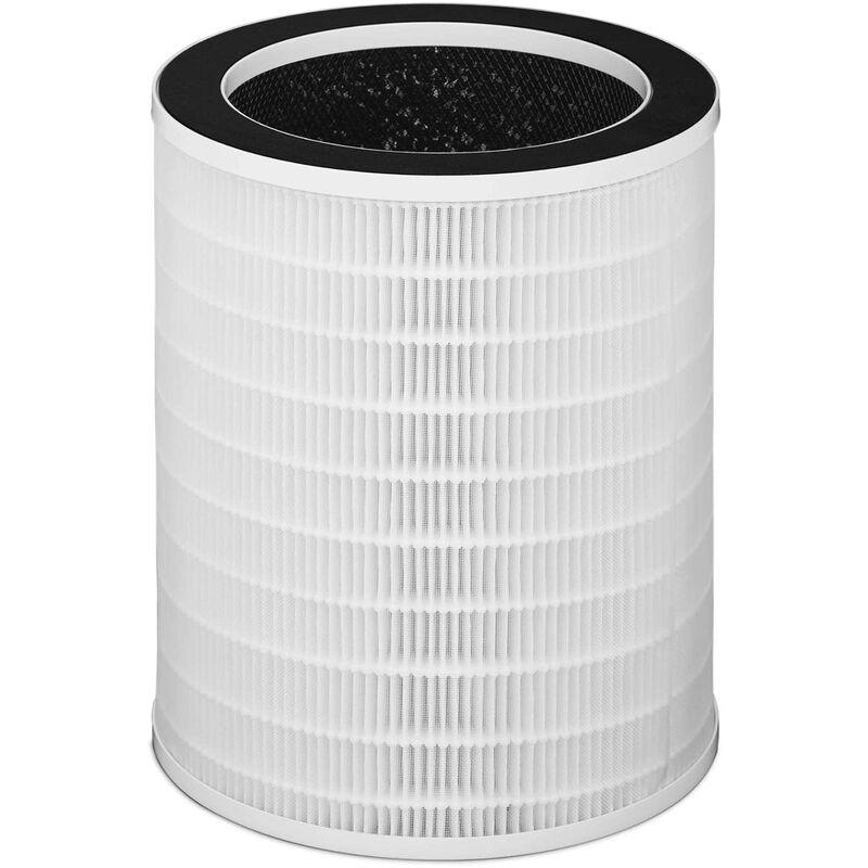 Uniprodo Filtro Purificatore Aria 3 Stadi: Prefiltro Filtro Hepa Filtro A Carboni Attivi