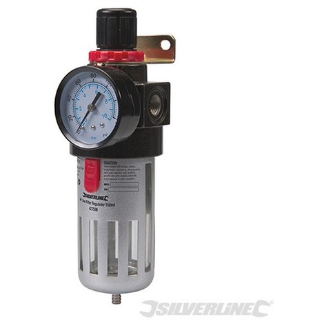 Filtro regulador para aire comprimido (150 ml)