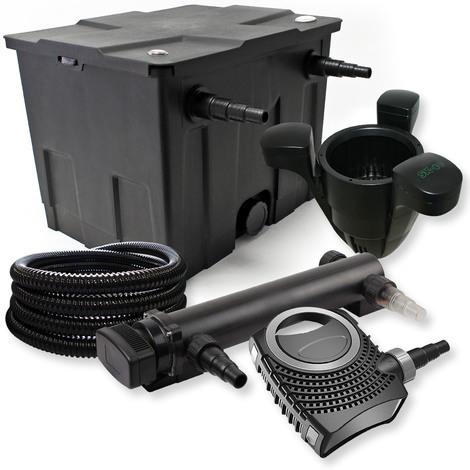 Filtro set estanque 12000l 36W UVC Clarificador NEO8000 Bomba Skimmer jardin