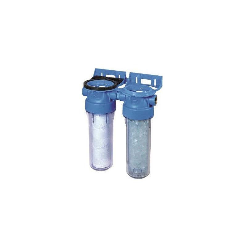 filtro trasparente doppia porta 20/27 con montaggio a parete NO NAME