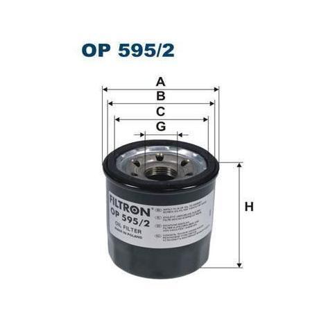 op595 Filtron Filtre /à huile