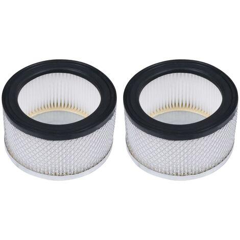 Filtros HEPA para aspiradoras de ceniza 2 uds lavables
