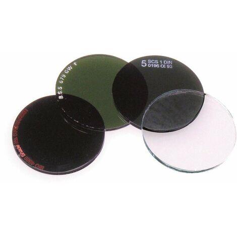 Filtros Para Gafas De Soldadura (Cristales Redondos) (10 unidades)