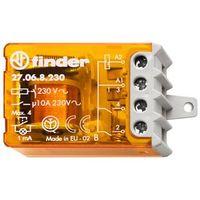 Finder 27.06.8.230.0000 Stromstoßschalter für Chassis-od. UP-Dose , 2 Kontakte 10 A, 3 Sequenzen, 230 V AC